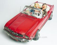 forchino-ford-mustang-convertible-caricature