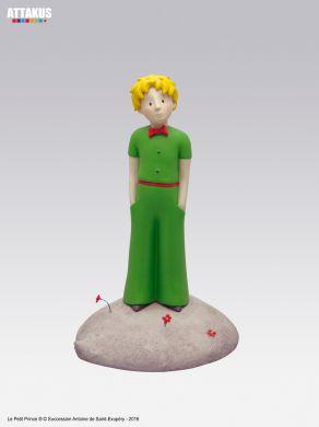 Le Petit Prince debout sur sa planète