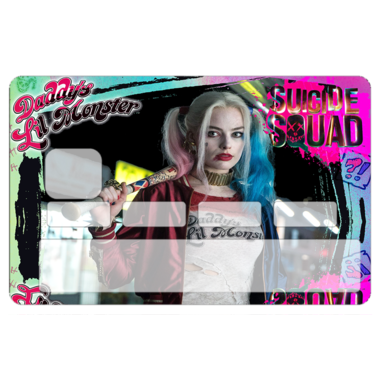 Sticker CB Harley Queen