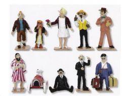 10  mini personnages classiques