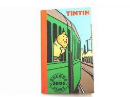 Agenda de poche Tintin 2005