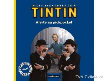 Alerte au pickpocket, les aventures de Tintin, le film
