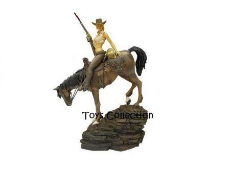 Angéla a cheval