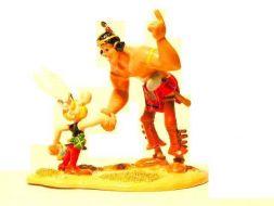 Astérix et Oumpah-pah, la poignée de main