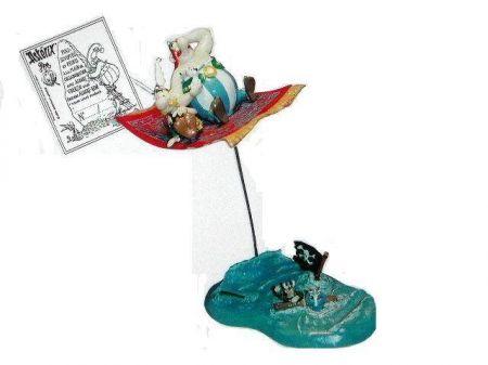 Astérix, Obélix et idéfix sur le tapis volant