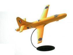 Avion golden jaune