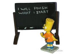 Bart et le tableau noir