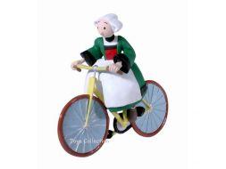 Bécassine à vélo