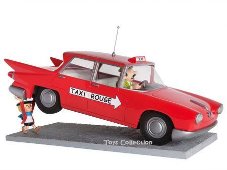 Benoit Brisefer soulève le taxi