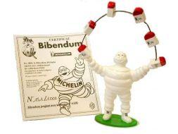 Bibendum jonglant avec les bornes