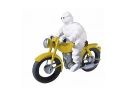 Bibendum sur sa moto en porte clé