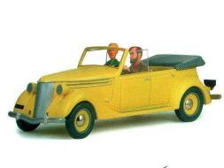 Blake et Mortimer dans la Ford 38