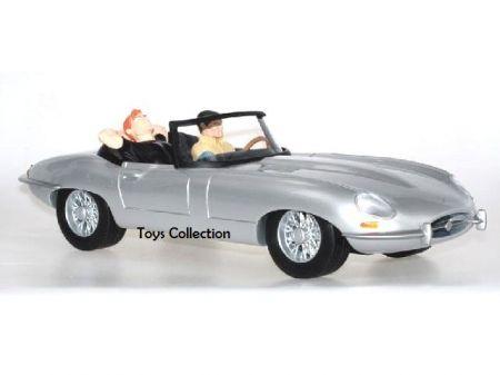 Bob Morane dans la Jaguar