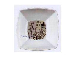 Bol carré Tintin éléphants