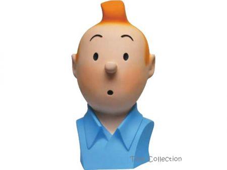Buste Tintin couleur