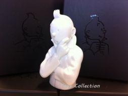 Buste Tintin pense (brillant)