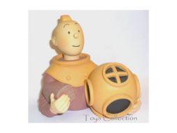 Buste Tintin scaphandrier #