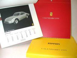 Calendrier Ferrari 1999