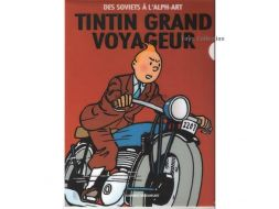 Chemise plastique Tintin moto
