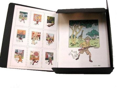 Coffret Lithographie Tintin