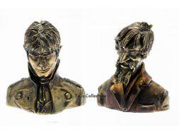 Corto et Raspoutine en Bronze