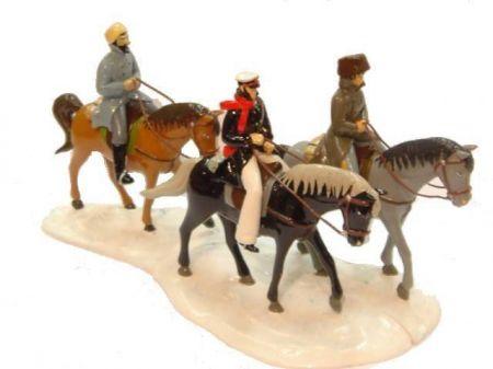 Corto Maltese, Raspoutine et Changai Li à cheval