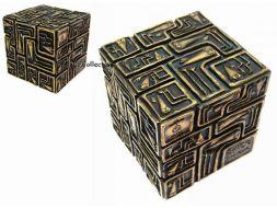 Cube Shadok en bronze