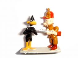 daffy duck et Elmer mini