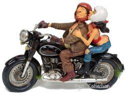 Excitant tour en moto