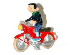 Gaston à moto (ancien)