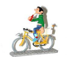 Gaston à vélo