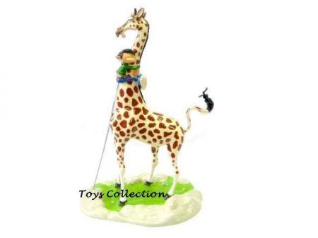 Gaston au cou de la Girafe