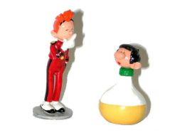 Gaston culbuto et Spirou #