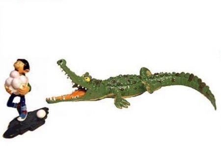 Gaston et le crocodile