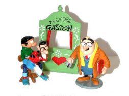 Gaston et le thêatre de marionnettes