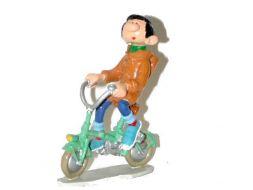 Gaston et son mini vélo (ancien) #