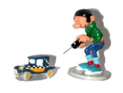 Gaston et son taxi radiocommandé