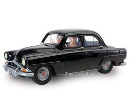 Gil Jourdan et Crouton dans la Simca Aronde