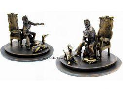 Gotlib scène du fauteuil en bronze