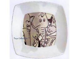 Grande Assiette Tintin éléphants