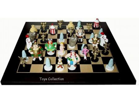 jeu d 39 checs ast rix jeu d 39 checs pixi plomb. Black Bedroom Furniture Sets. Home Design Ideas