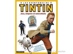 jeux, énigmes et autocollants, les aventures de Tintin, le film
