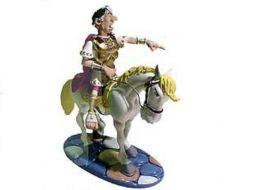 Jules César à cheval