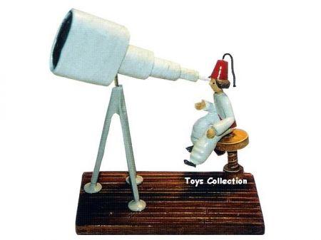 L'astronome au telescope