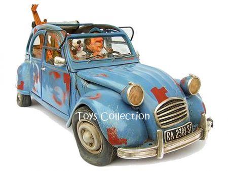 La bohème en 2CV Citroën