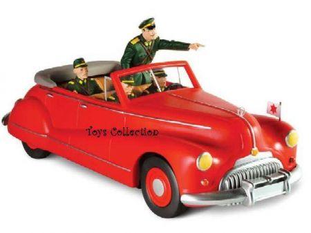 La Buick cabriolet avec Olrick