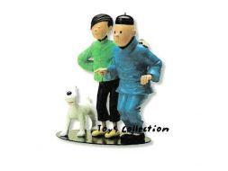 La fraternité de Tintin et Tchang