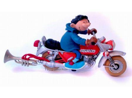 La moto de Gaston