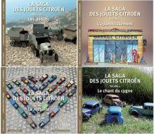 La saga des Jouets Citroën, les 4 volumes