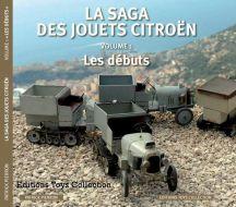 La saga des Jouets Citroën, volume 1